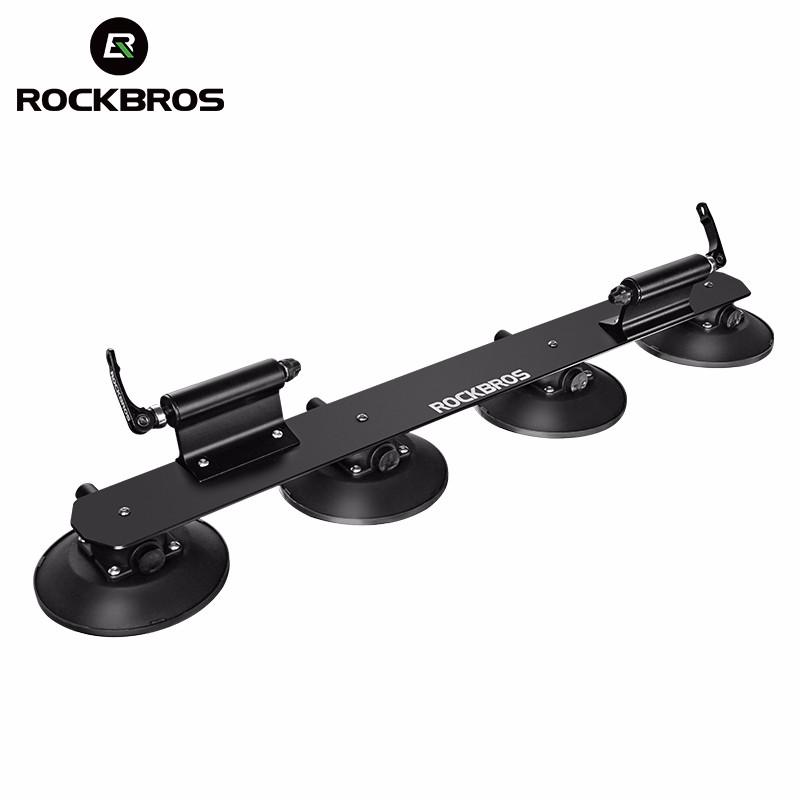 Rockbros Hot Sale Suction Cup Roof Top Rear Bike Rack Car