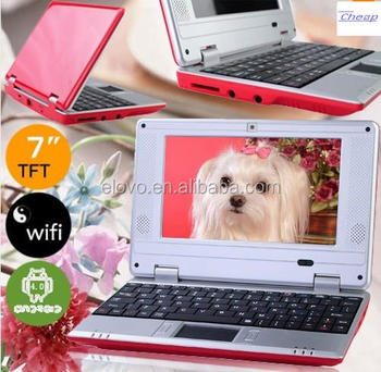 Cheap China 7 Inch Kids Smart Book Mini Laptop Webcam Netbook ...