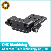 Machinery aluminum parts CNC machining surface finish services
