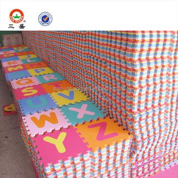 36pcs Kids Baby Number Alphabet Interlocking Eva Foam Floor Puzzle Play Mat Buy Eco Friendly Kids Interlocking Play Mat Baby Number Puzzle