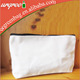 Custom small wholesale cotton canvas zipper pouch blank