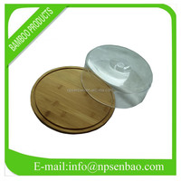 New Design Clear Bamboo Breakfast Tray