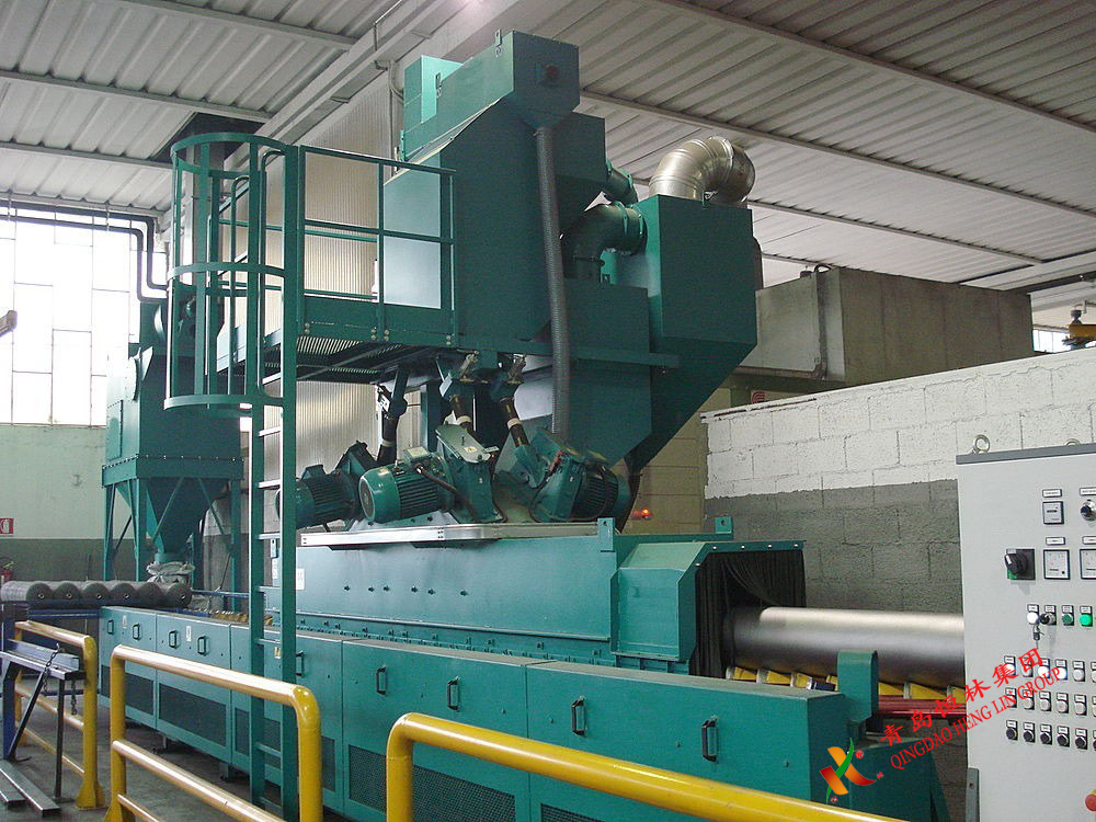 Shot Blasting Machine For Steel Pipe Outer Wall - Buy -7743