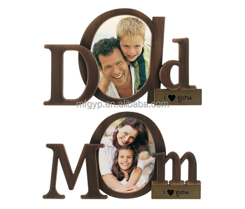 Lovely Bronze Metal Photo Frame For Mom And Dad Buy Metal Photo
