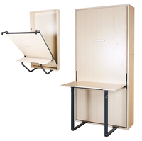 Murphy Bed With Desk Folding Wall Bed Hardware Kit