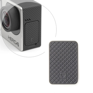 QIUNIU Wholesale USB Side Door Cover Replacement For GoPro Hero 4 3+ 3 Black Silver