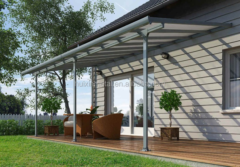 Sturdy Aluminium Frame Hollow Polycarbonate Balcony Waterproof Canopy Patio Covers Buy