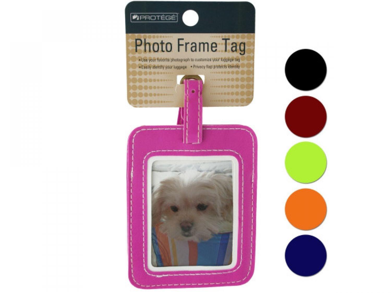 Photo Frame Luggage Tag - Set of 96, [Travel Goods : Luggage Accessories, Travel Goods : Luggage Accessories]