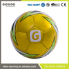 Hot products genuine leather deflated soccer ball
