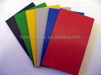 Factory price customized colorful ABS plastic sheet