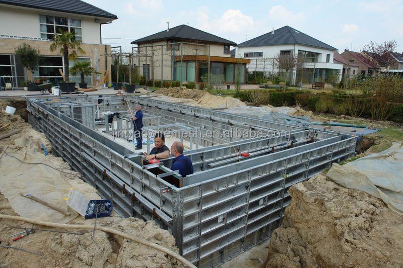 Aluminum Shoring Concrete : Aluminum formwork for slab beam shoring props system and