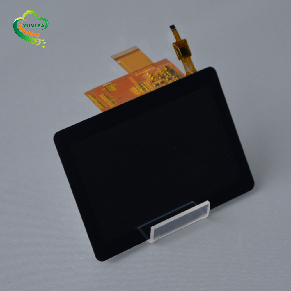 Yunlea factory price Touch screen manufacturer 800x480 capacitive touch panel 5 inch tft <strong>lcd</strong>