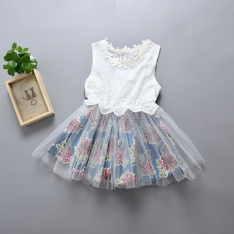 New children boutique clothing girl daily wear dress