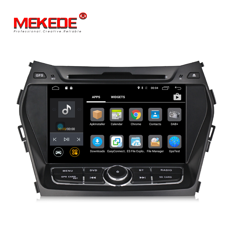 Android 7.1 Car DVD GPS Radio Player for HYUNDAI IX45 2013/SANTA FE 2013 with 4G/WIFI BT