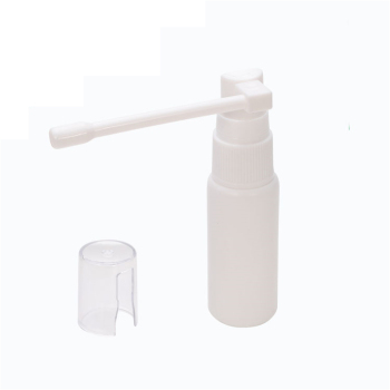 Whole White Nasal Spray Bottle for Medical