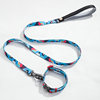 Nice Polyester Dog Leashes And Collars Set Size S/M/L