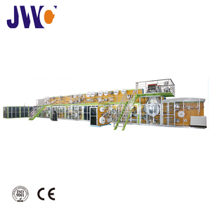 2018 Full Automatic High Disposable Baby Diaper manufacturing Machine
