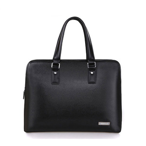 Hot Sale Briefcase Genuine Leather Top quality Men's business bag