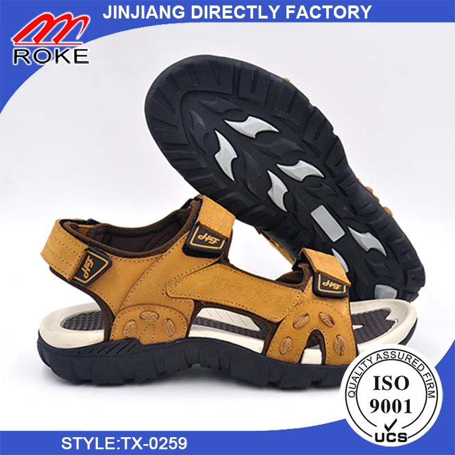 New Men's Sandals Outdoor Sports Slippers Flat Casual Beach Shoes