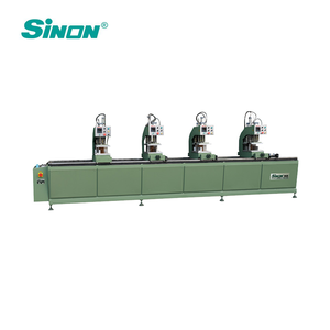 High Frequency PVC Window Frame Making Machine/PVC Window 4 Heads Welding Machine/uPVC Window Fabrication Machine