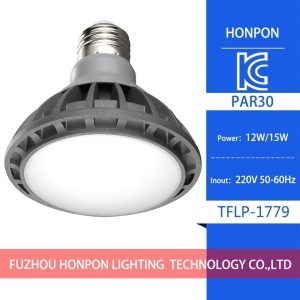 Hot selling LED Spotlight par38 par30 e27 light with KC CE ROHS