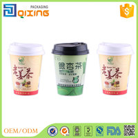 9.2oz wholesale high quality preventing tea paper cup with lid