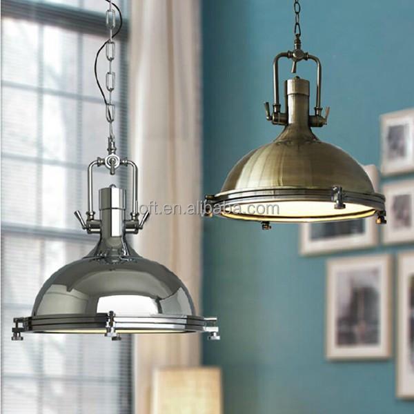 industriellen vintage stil leuchten hochwertige chrom. Black Bedroom Furniture Sets. Home Design Ideas