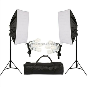 Hot Sell Studio Continuous kits Light Stand + Soft Light Box Photo Studio Kit Photography Studio Product