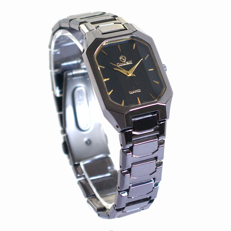 Stainless steel caseback japan movt accutime watch corp