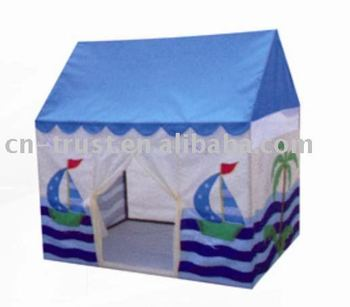 Lovely printing Cheap children play house tent