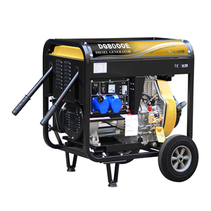 7.5KVA open frame hot sale model 6KW portable diesel generator