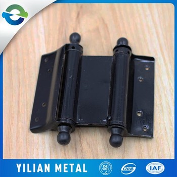 China Factory Wholesale Black Double Action Spring Door Hinge