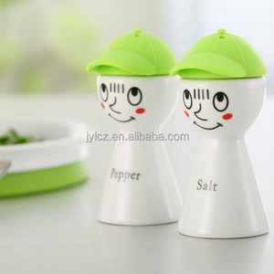 ceramic salt and pepper cellar