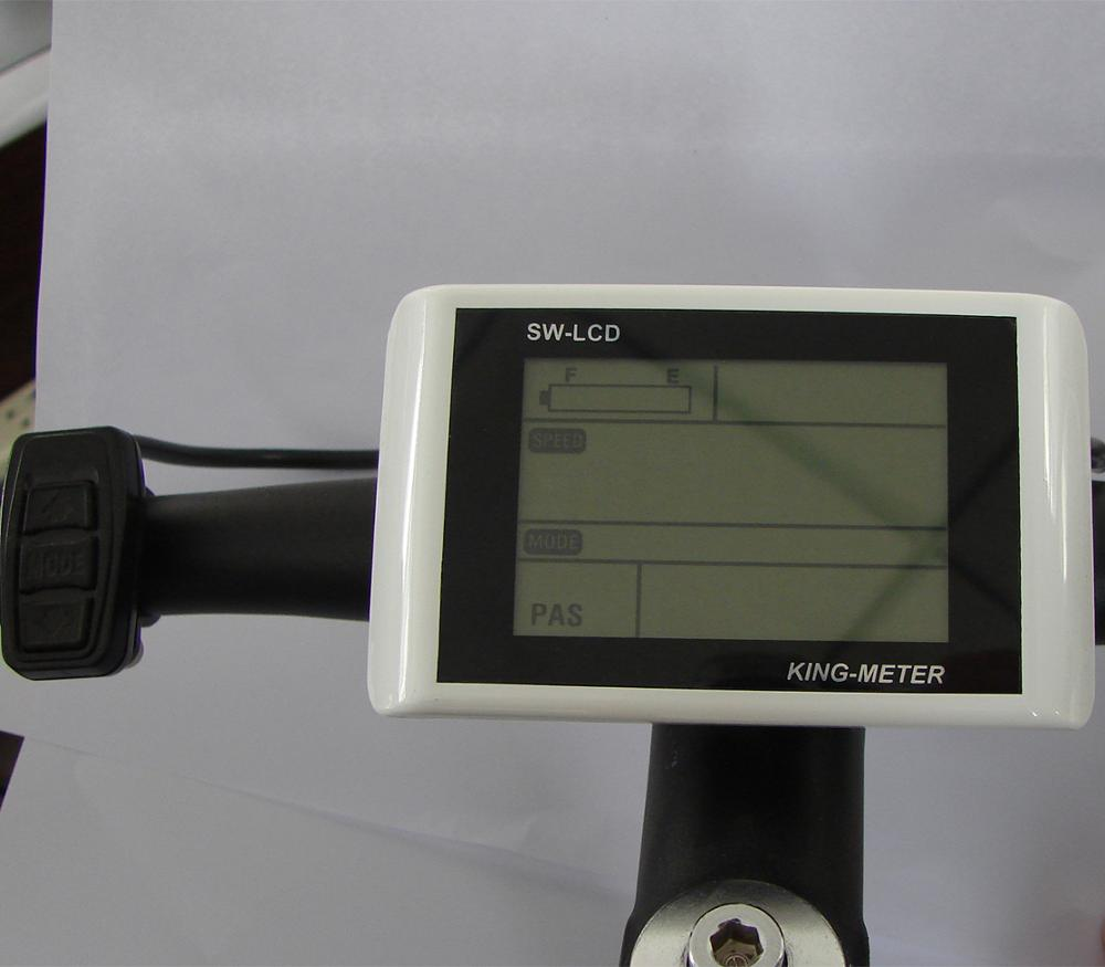 SW900 LCD Display Panel Meter Function For Electric Bicycle E-bike Rider Cycling