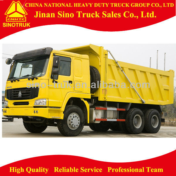 Right Hand Driving 30 Ton SINOTRUK HOWO 10 Tires Tipper Truck