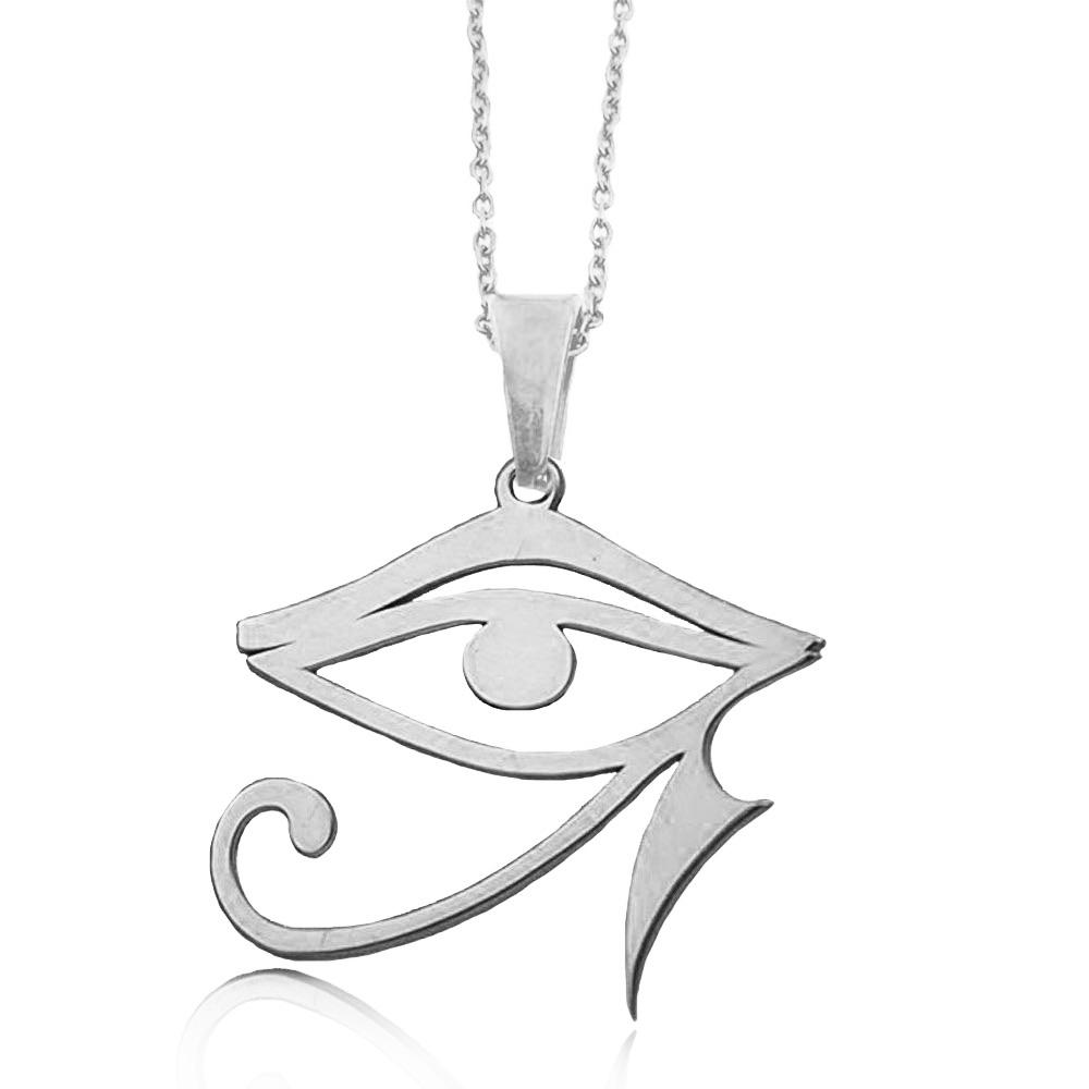 Olivia Fashion Stainless Steel Egyptian Symbolism Pendant Womens