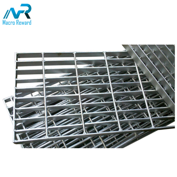 Low MOQ heavy duty stove grate cover stainless steel press locked steel grating