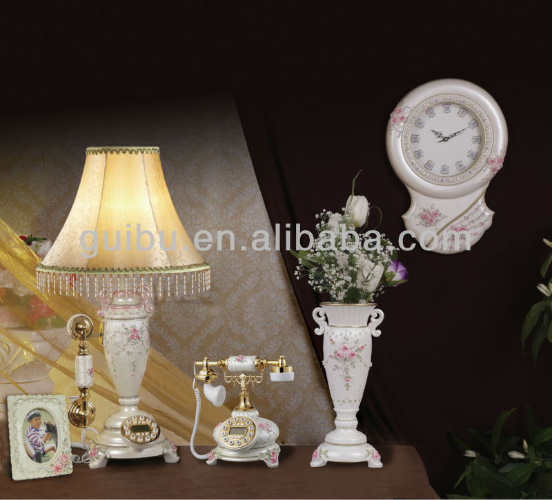 Hot sale resin home decor house deco interior deco home furnishing