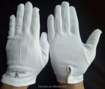 Military Dress Ceremony Cotton White Waiter Gloves - Buy Cotton ... a53969c0f13