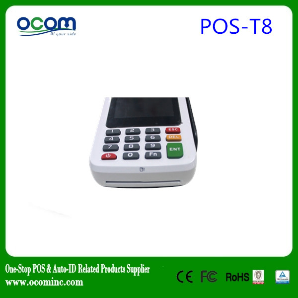 (P8000)2016 Newest high quality mobile android pos with printer