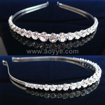 Bride Adorn Article Crystal Headdress Sun Claw Diamond Headband ... 402637672db