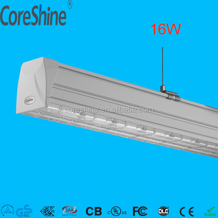 Office Lighting Design led linear pendant light continuous led linear luminaire hanging led linear light