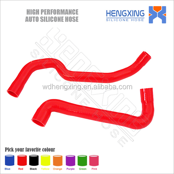 silicone hose for 88-91 BMW E30 M3 2.3L MT 3-PLY BLUE SILICONE RACING RADIATOR HOSE PIPING PIPE