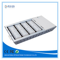 Square style design high bay IP65 120w led gas station canopy lights