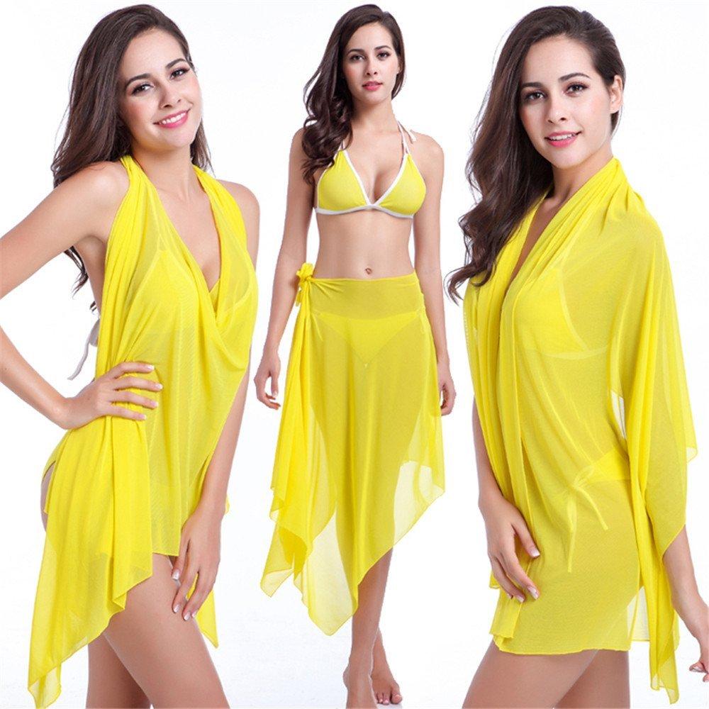 2334137105 Get Quotations · 2017 Women s Beach Skirt Different Styles High Elasticity  New Summer Beach Skirt Cover Up Swimsuit Swim