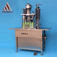 3 in 1 semiautomatic fire extinguisher refill machine from the most professional aerosol filling machine manufacturer in China