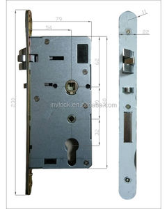European standard electronic door lock mortise cylinder
