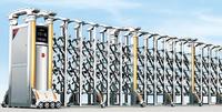 auto defense sliding gates doors automatic retractable safety door gates