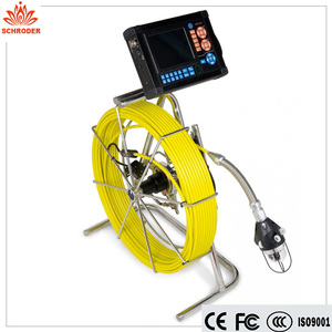 Industrial Push Rod Sewer Pipe Inspection Camera For Water Well | Boiler | Tank | Archaeological | Manhole Leaking Location