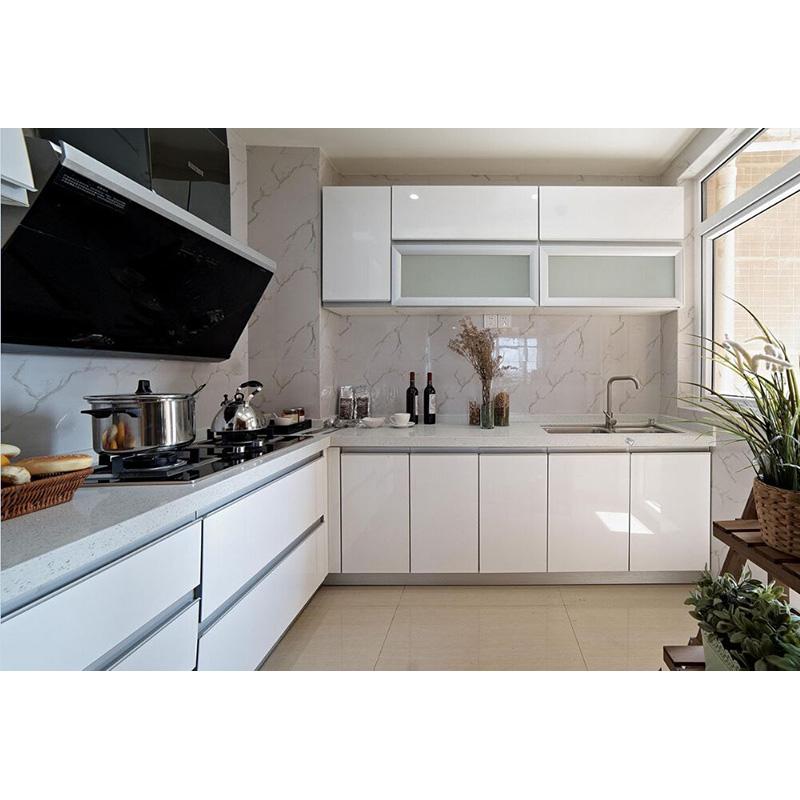 Venta al por mayor fabrica muebles de cocina melamina-Compre online ...